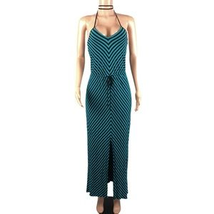 Mossimo striped maxi dress